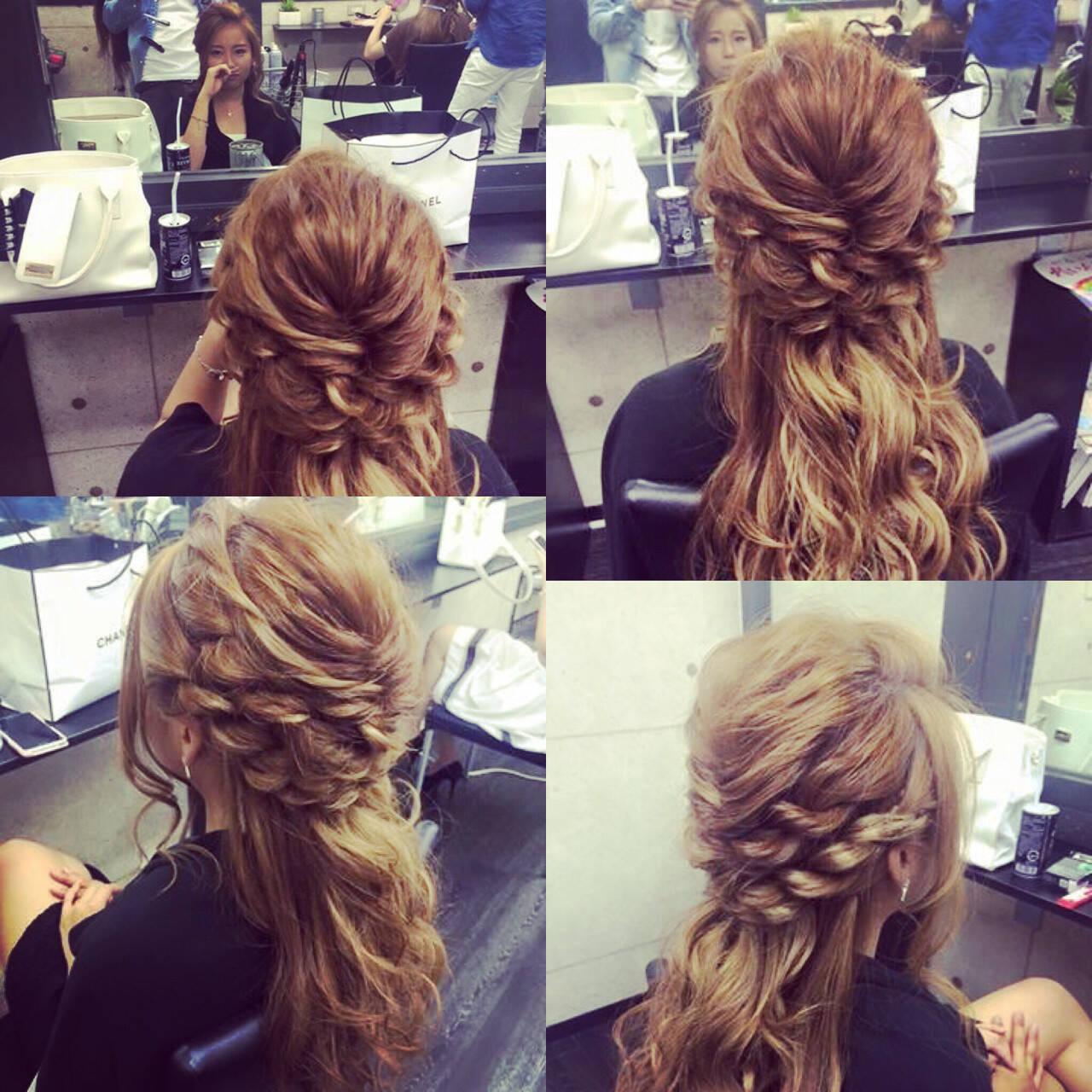 波ウェーブ ロング ショート 大人女子ヘアスタイルや髪型の写真・画像