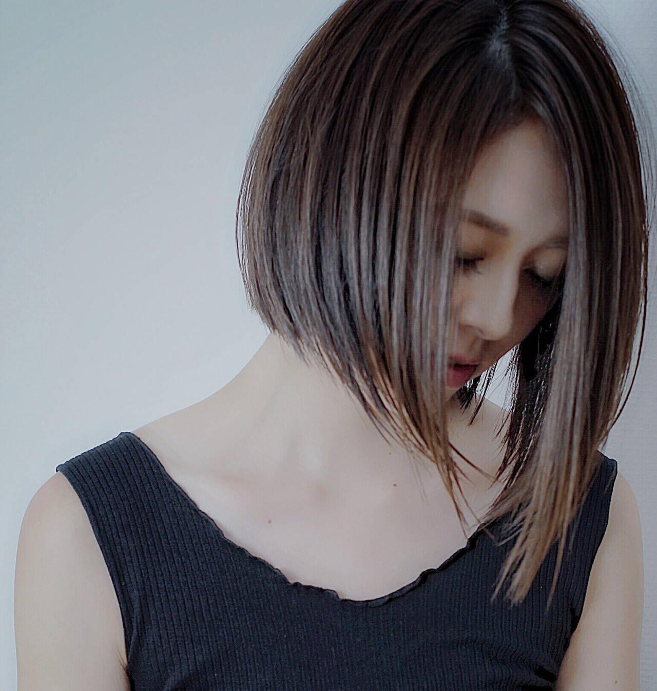 大人女子 オリーブアッシュ アッシュグレージュ 簡単ヘアアレンジヘアスタイルや髪型の写真・画像
