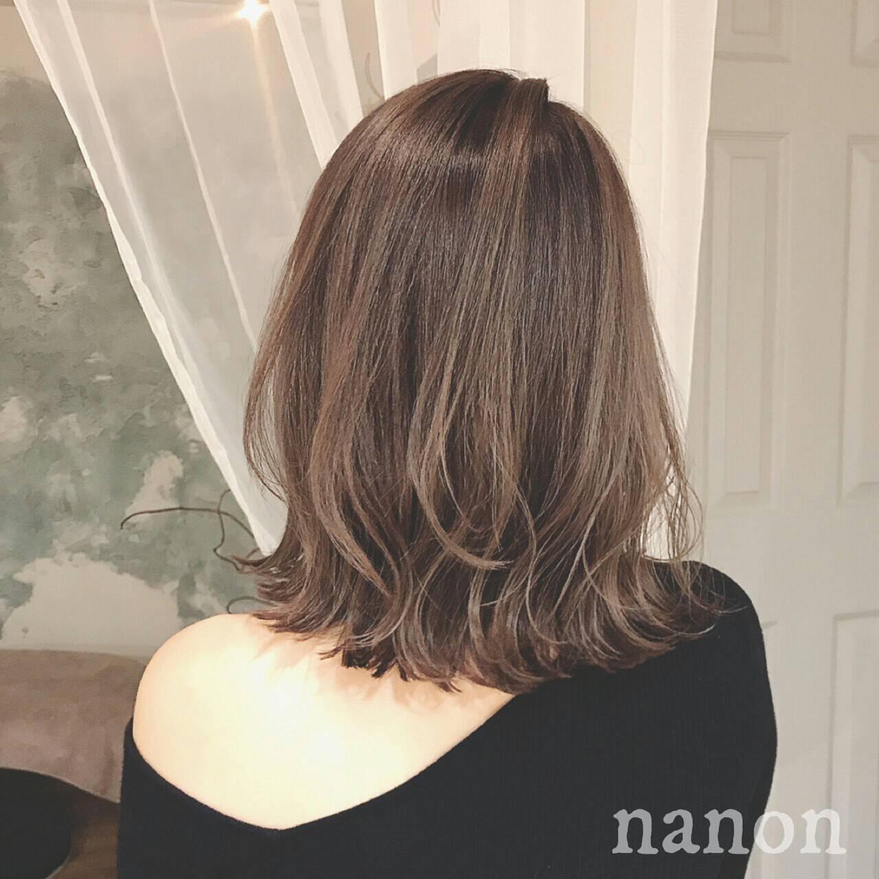 エレガント グラデーションカラー 冬 大人かわいいヘアスタイルや髪型の写真・画像