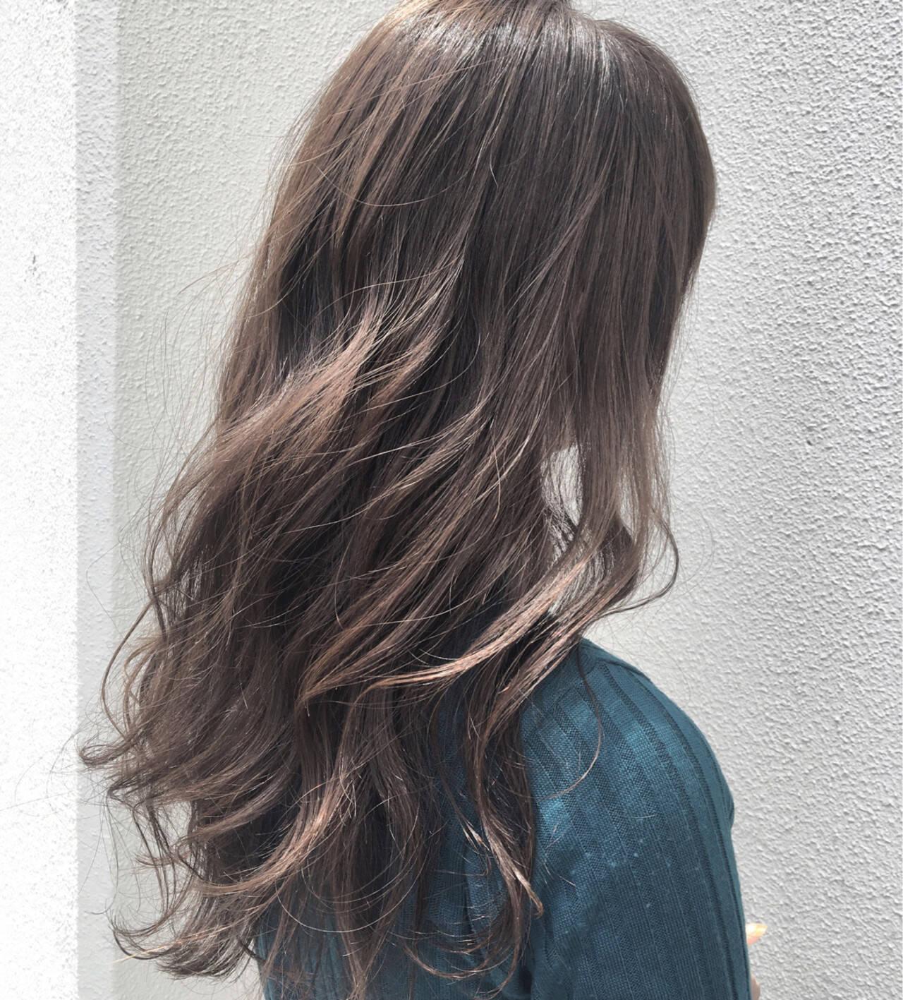 ナチュラル アンニュイ リラックス 外国人風カラーヘアスタイルや髪型の写真・画像