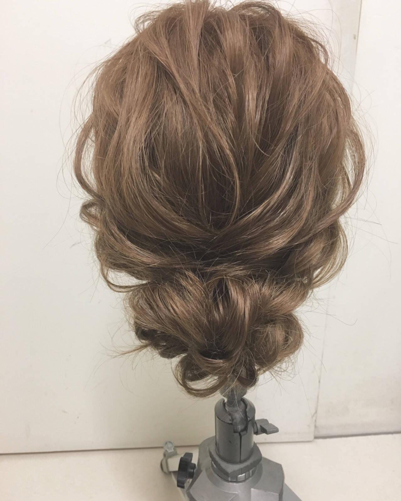 ヘアアレンジ 結婚式 パーティ 大人かわいいヘアスタイルや髪型の写真・画像