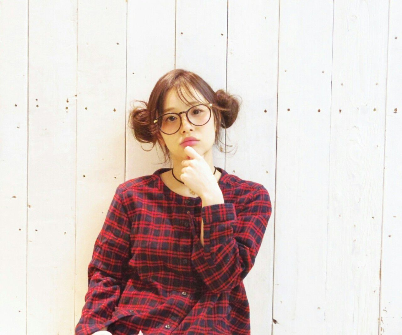 ヘアアレンジ ミディアム お団子 簡単ヘアアレンジヘアスタイルや髪型の写真・画像