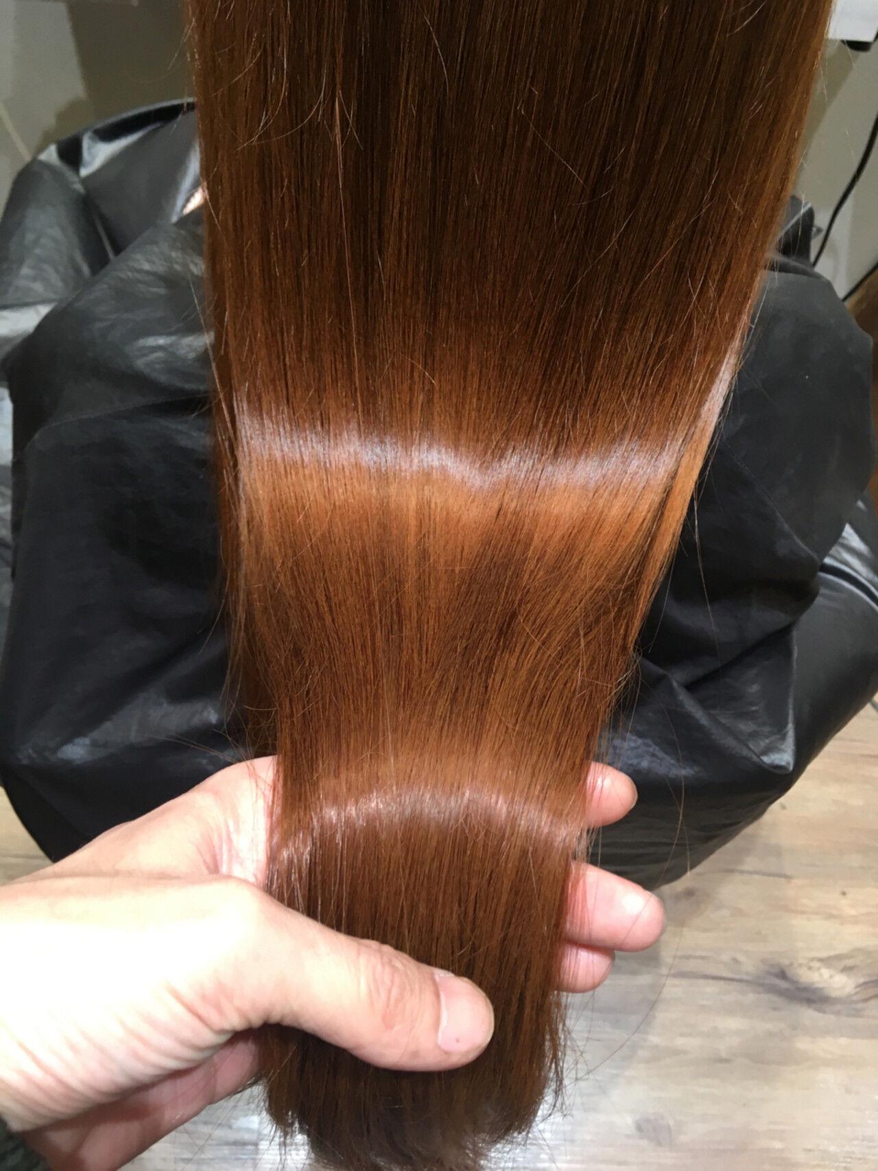 ナチュラル ロング トリートメント 艶髪ヘアスタイルや髪型の写真・画像
