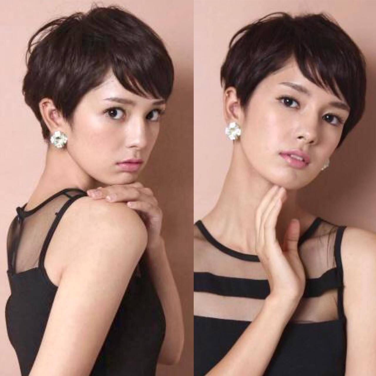 40代 吉瀬美智子 30代 モードヘアスタイルや髪型の写真・画像