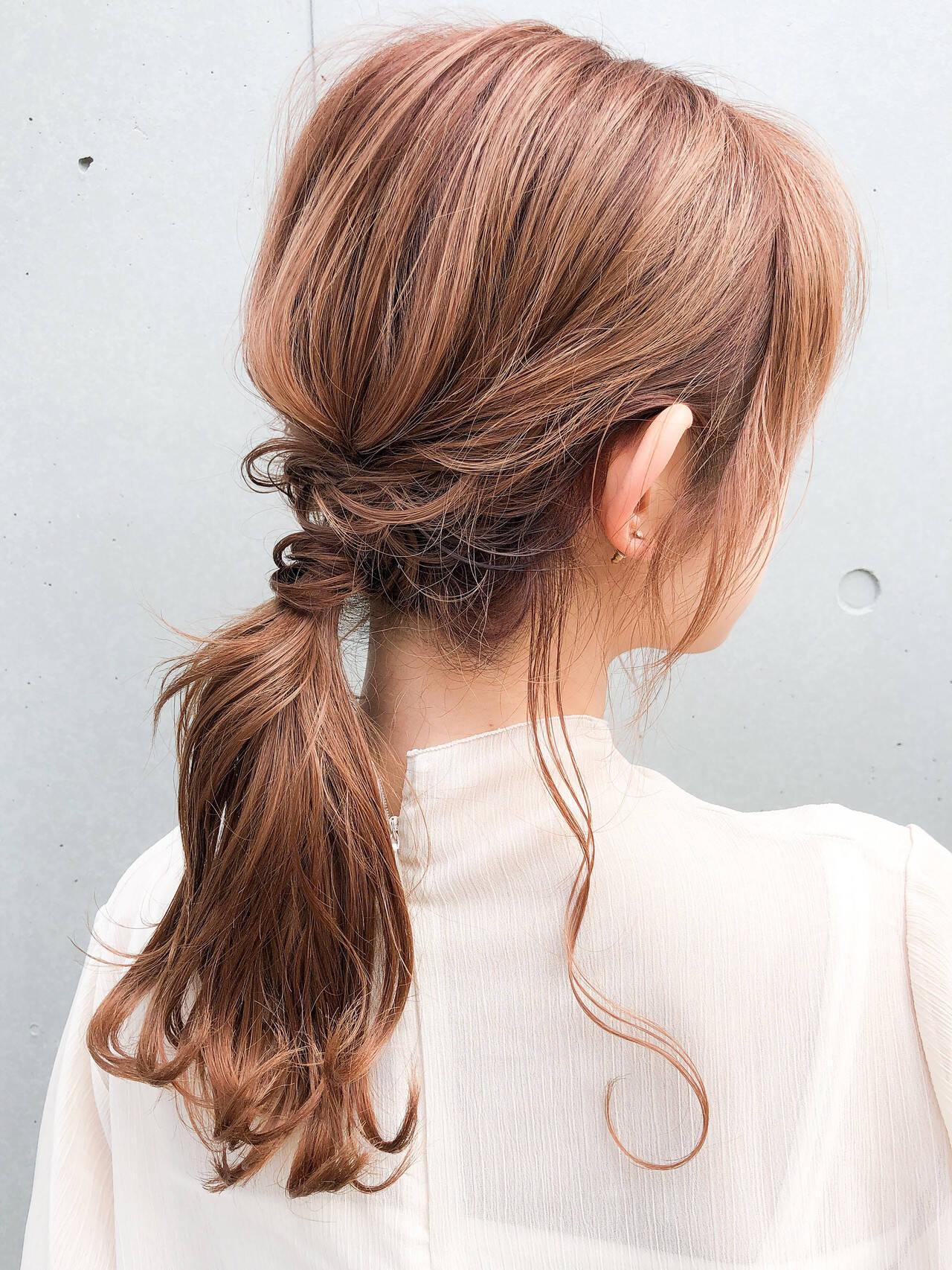 エレガント ゆるふわセット 簡単ヘアアレンジ 結婚式ヘアアレンジヘアスタイルや髪型の写真・画像