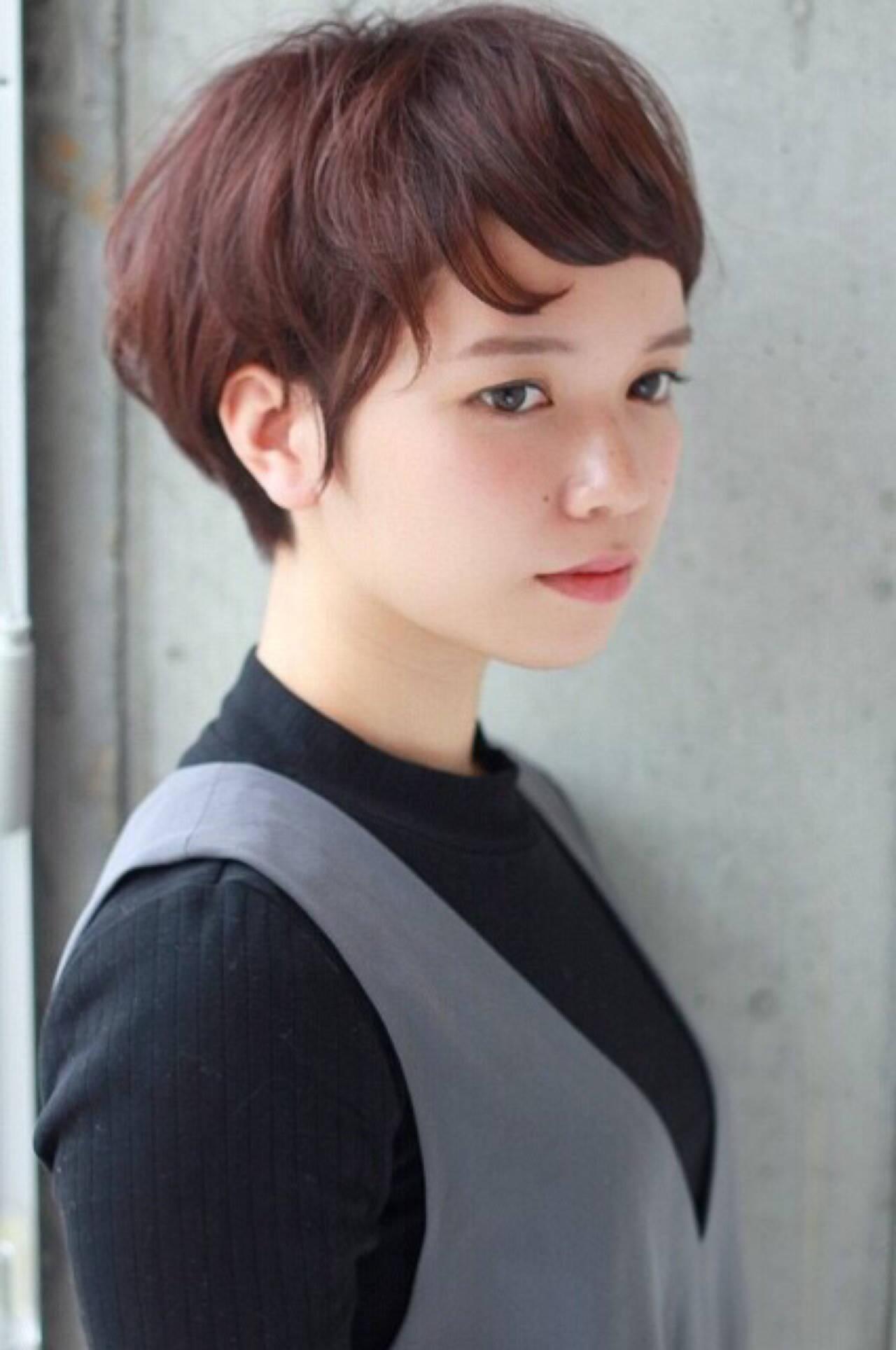 ストリート ショート 外国人風 冬ヘアスタイルや髪型の写真・画像