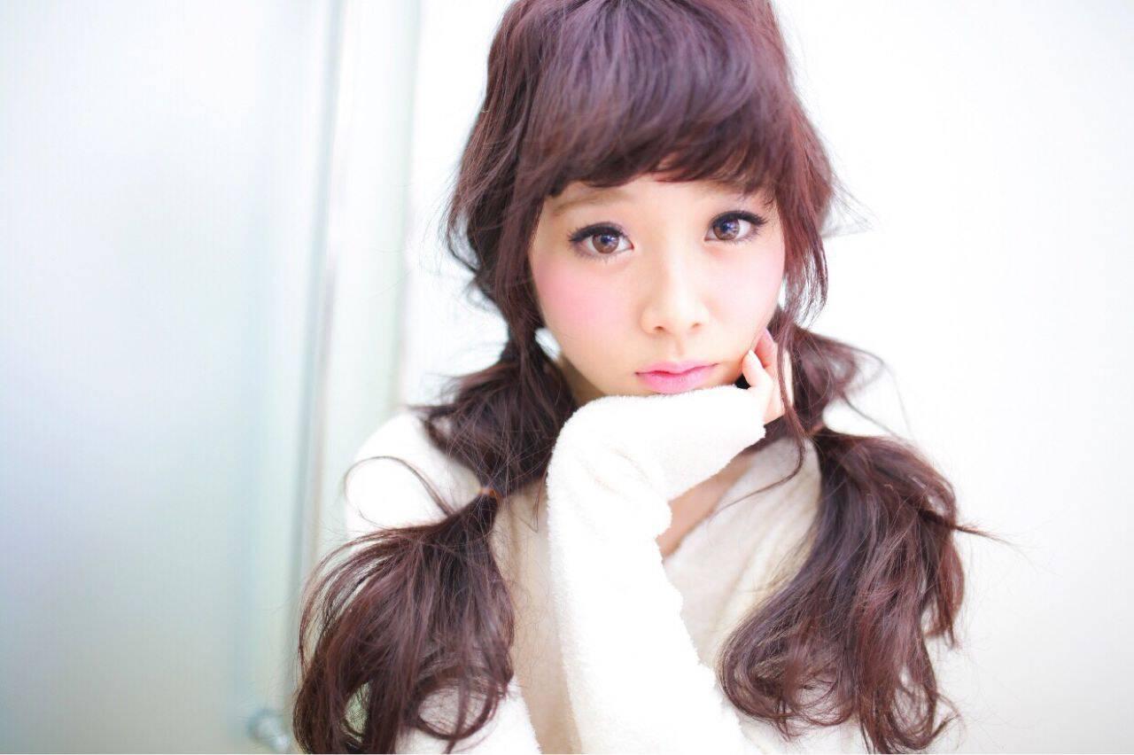 フェミニン ゆるふわ モテ髪 ロングヘアスタイルや髪型の写真・画像