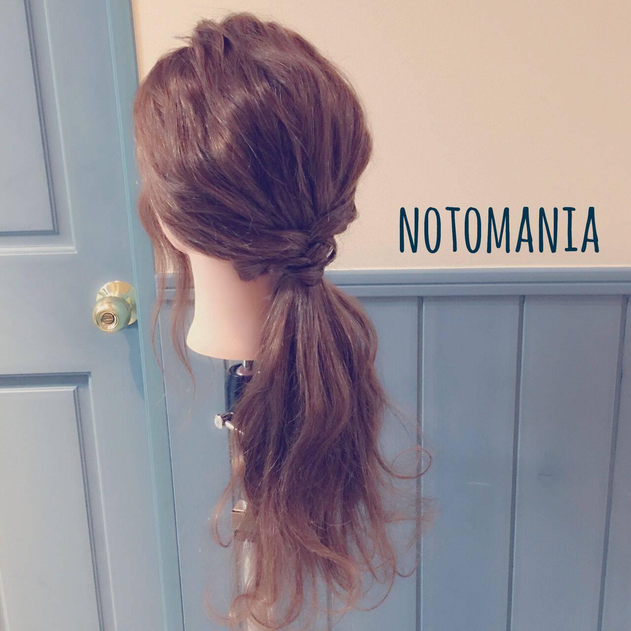 ヘアアレンジ ルーズ ストリート ゆるふわヘアスタイルや髪型の写真・画像