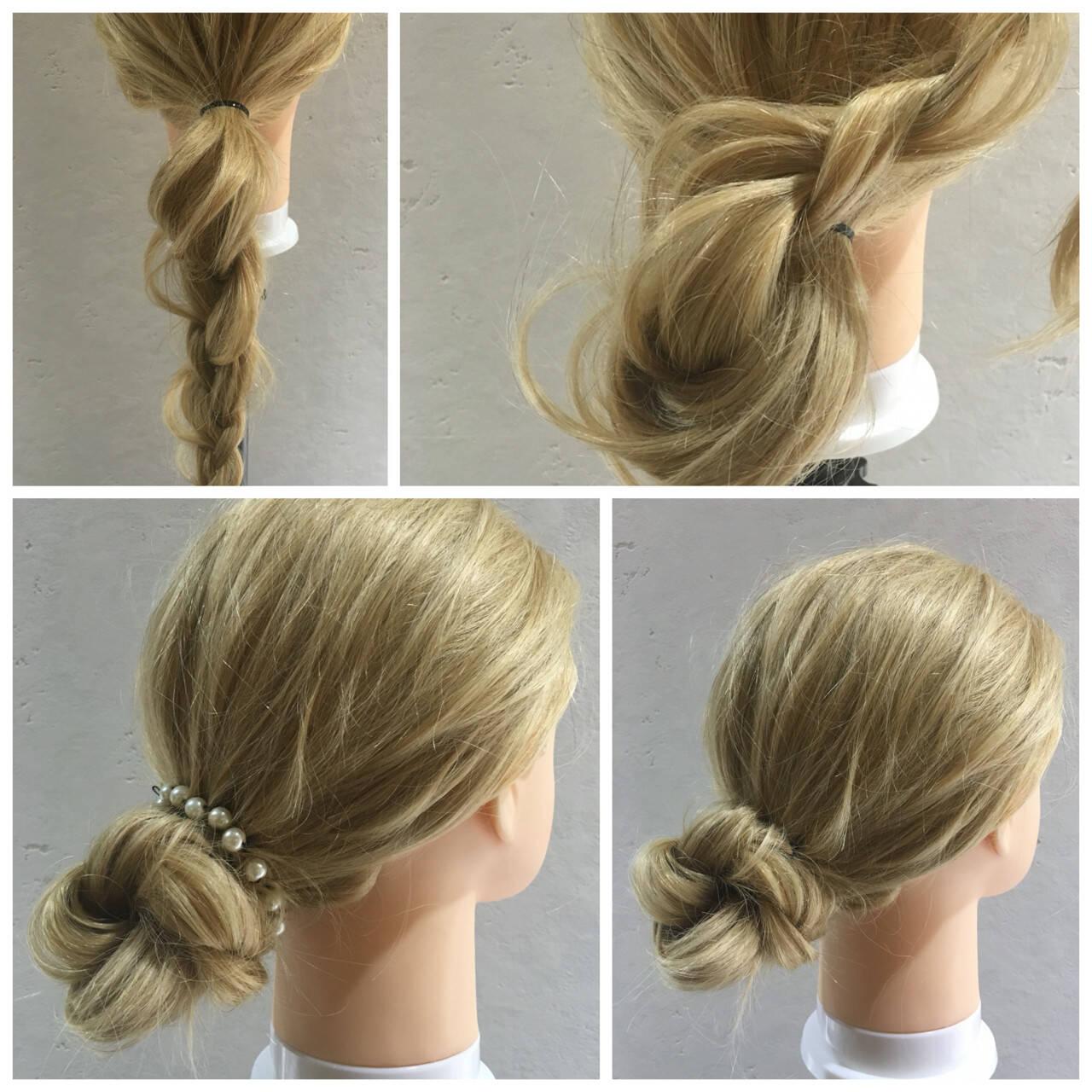 外国人風 成人式 ショート ヘアアレンジヘアスタイルや髪型の写真・画像