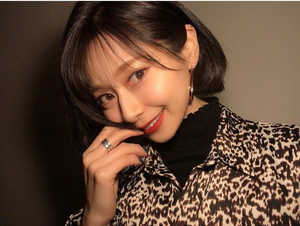 韓国風ヘアー 韓国 コリアンネイビー オルチャンヘアスタイルや髪型の写真・画像