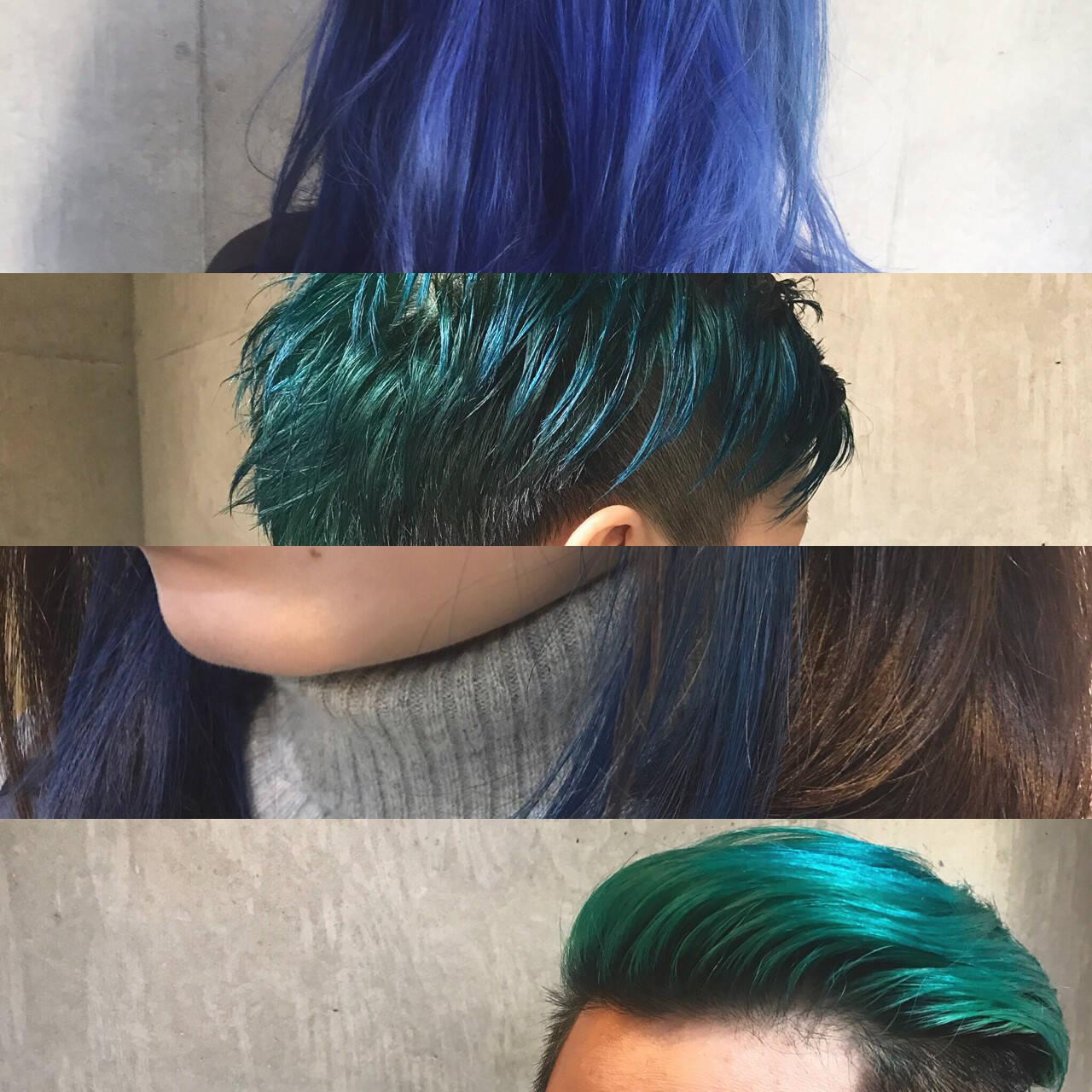 ハイライト ボブ 冬 色気ヘアスタイルや髪型の写真・画像