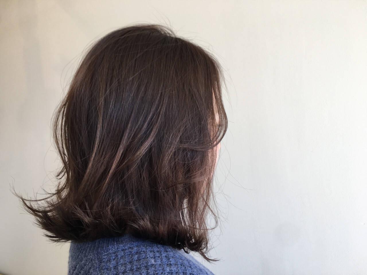 切りっぱなし ストリート フェミニン 外ハネヘアスタイルや髪型の写真・画像