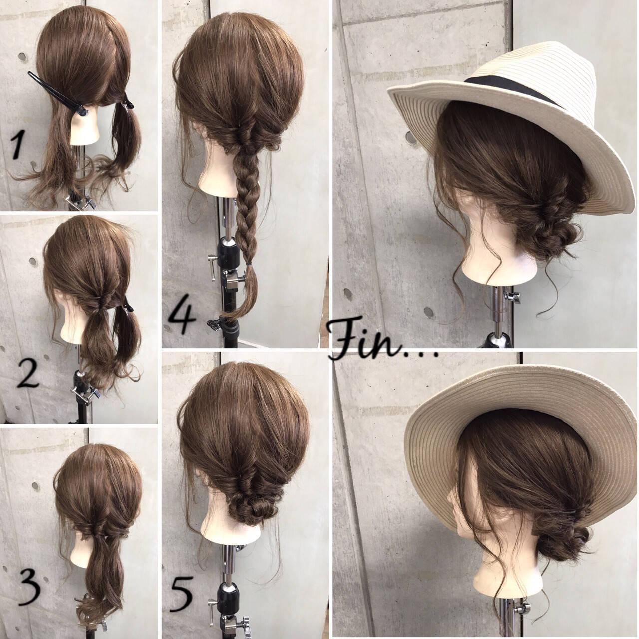 大人女子 セミロング 色気 涼しげヘアスタイルや髪型の写真・画像