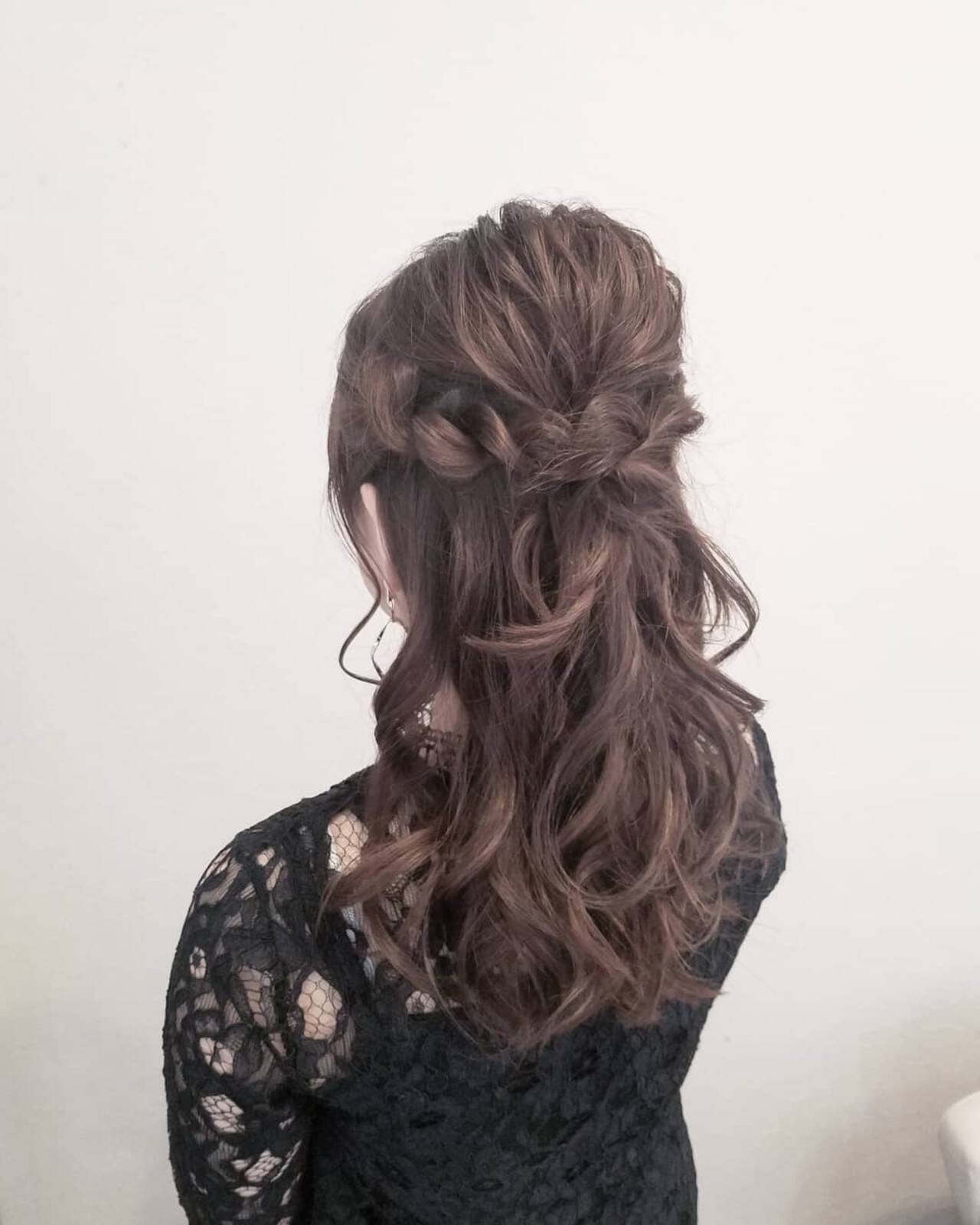 簡単ヘアアレンジ デート 成人式 結婚式ヘアスタイルや髪型の写真・画像