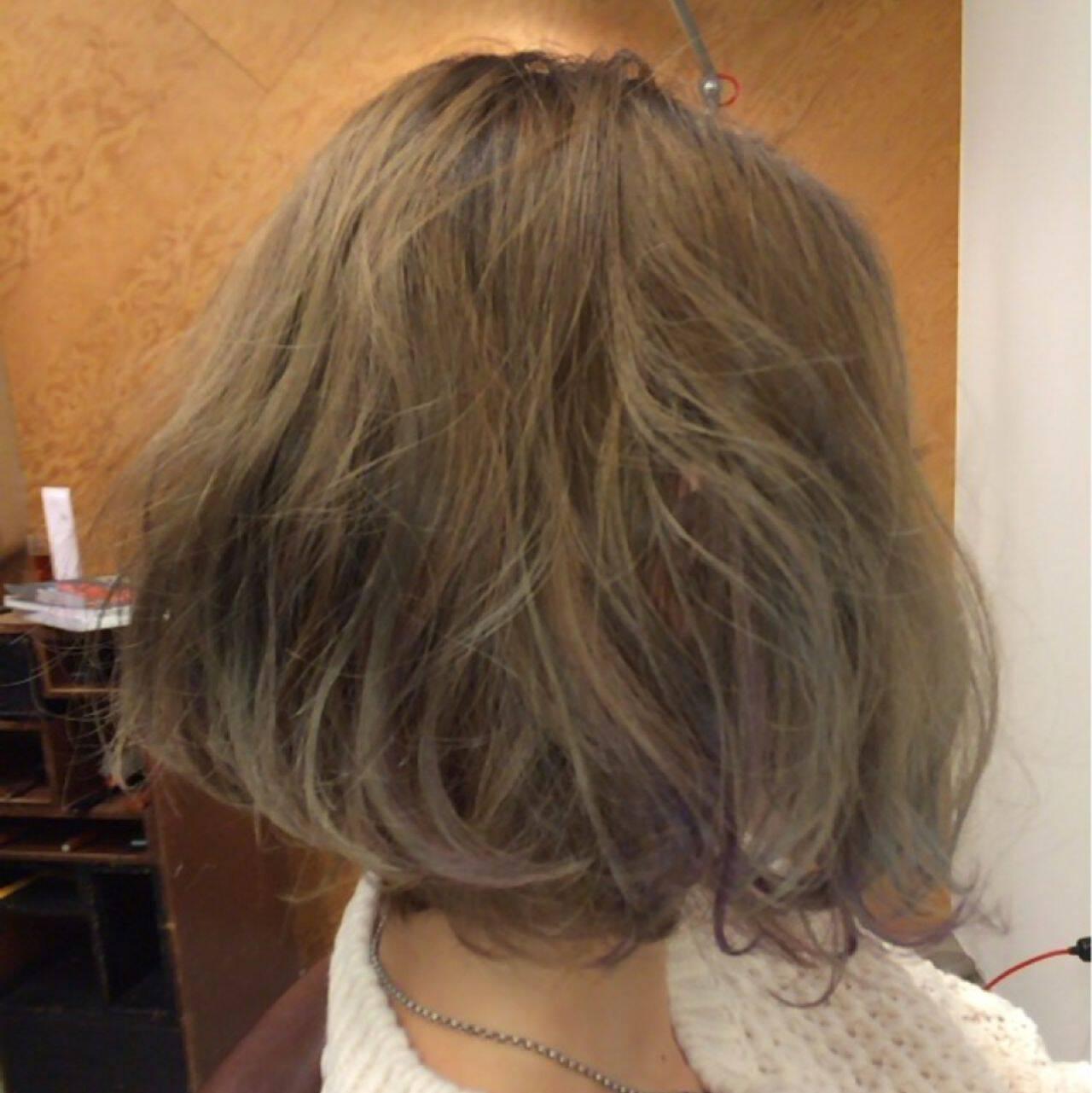モテ髪 ボブ モード ストリートヘアスタイルや髪型の写真・画像