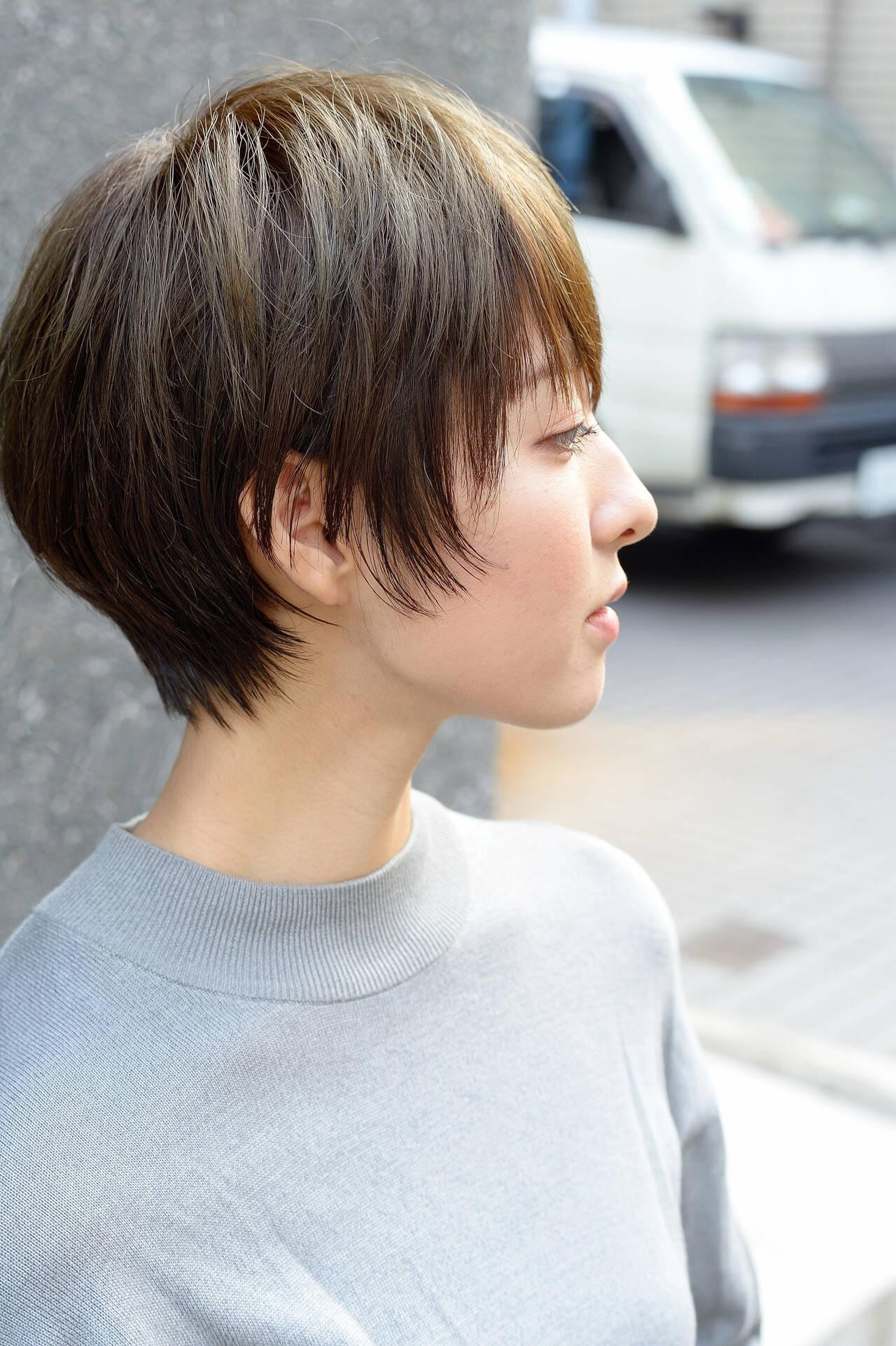 ショート ショートヘア ショートボブ ベリーショートヘアスタイルや髪型の写真・画像