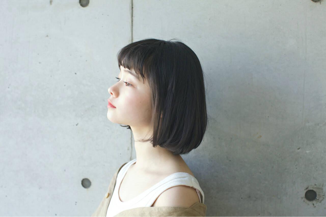 リラックス パーマ 似合わせ 小顔ヘアスタイルや髪型の写真・画像
