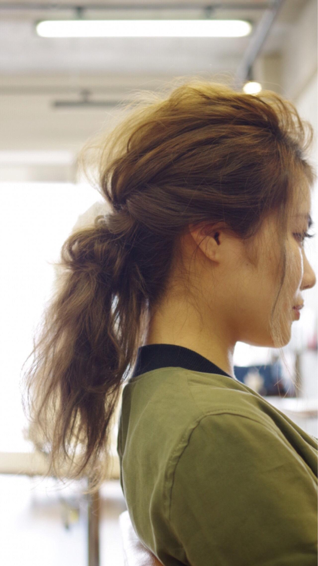 ロング ヘアアレンジ ショート 大人女子ヘアスタイルや髪型の写真・画像