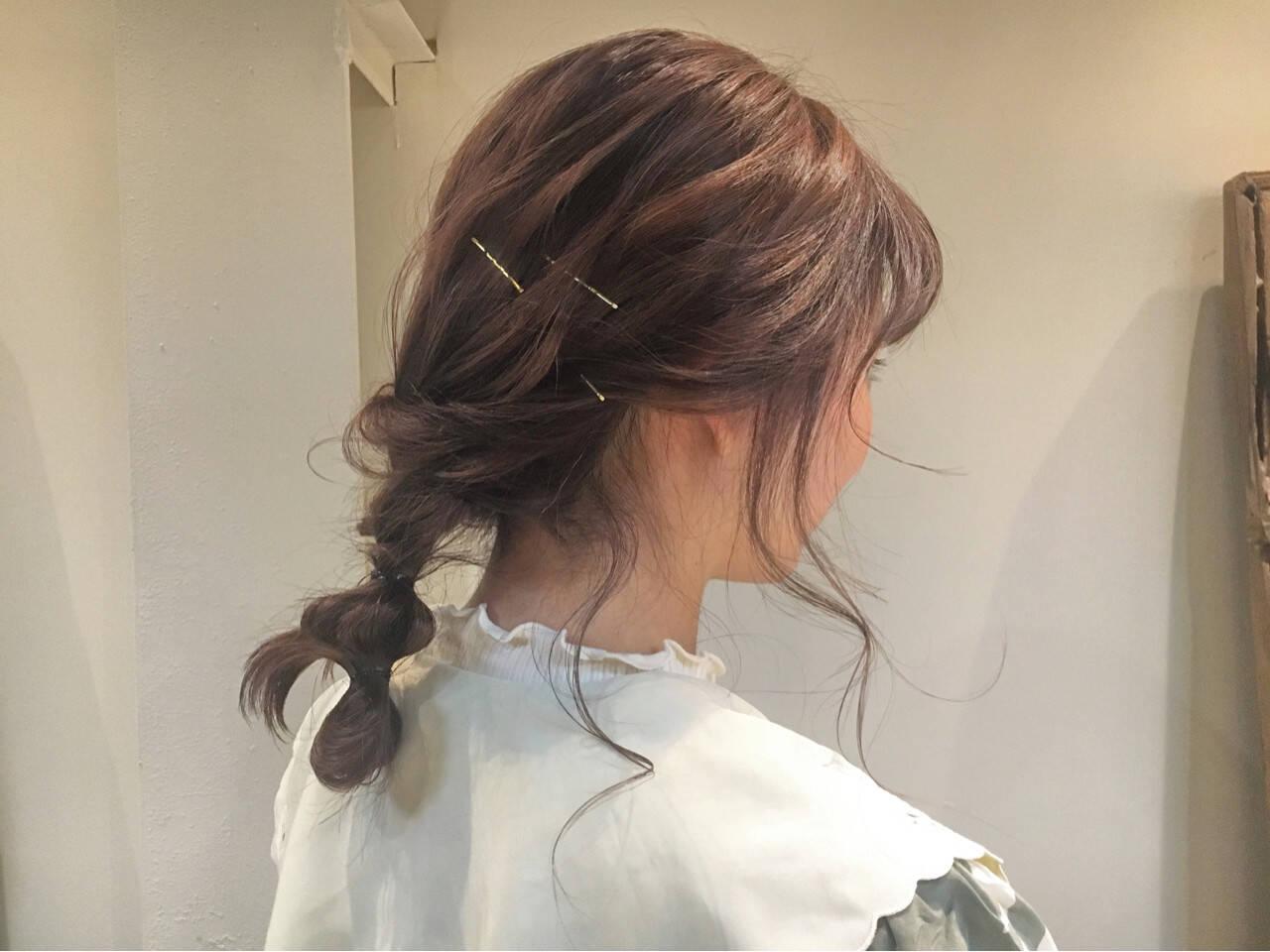 ロング ピンクアッシュ 冬 ガーリーヘアスタイルや髪型の写真・画像