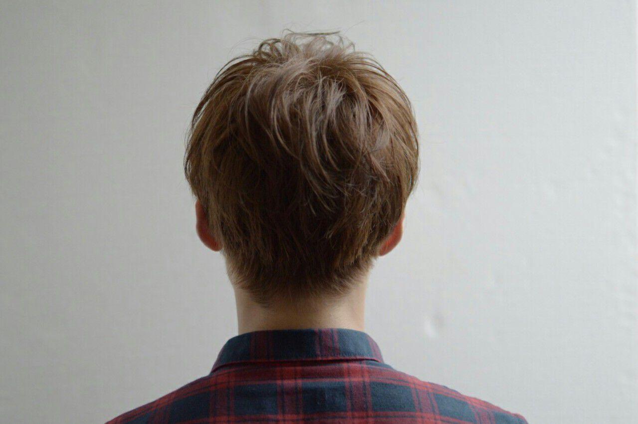 マッシュ ナチュラル メンズ ボーイッシュヘアスタイルや髪型の写真・画像