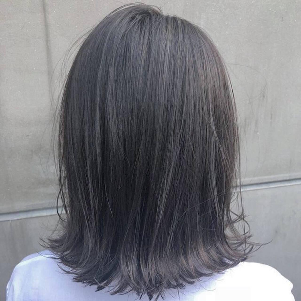 メンズ 透明感 モード アウトドアヘアスタイルや髪型の写真・画像