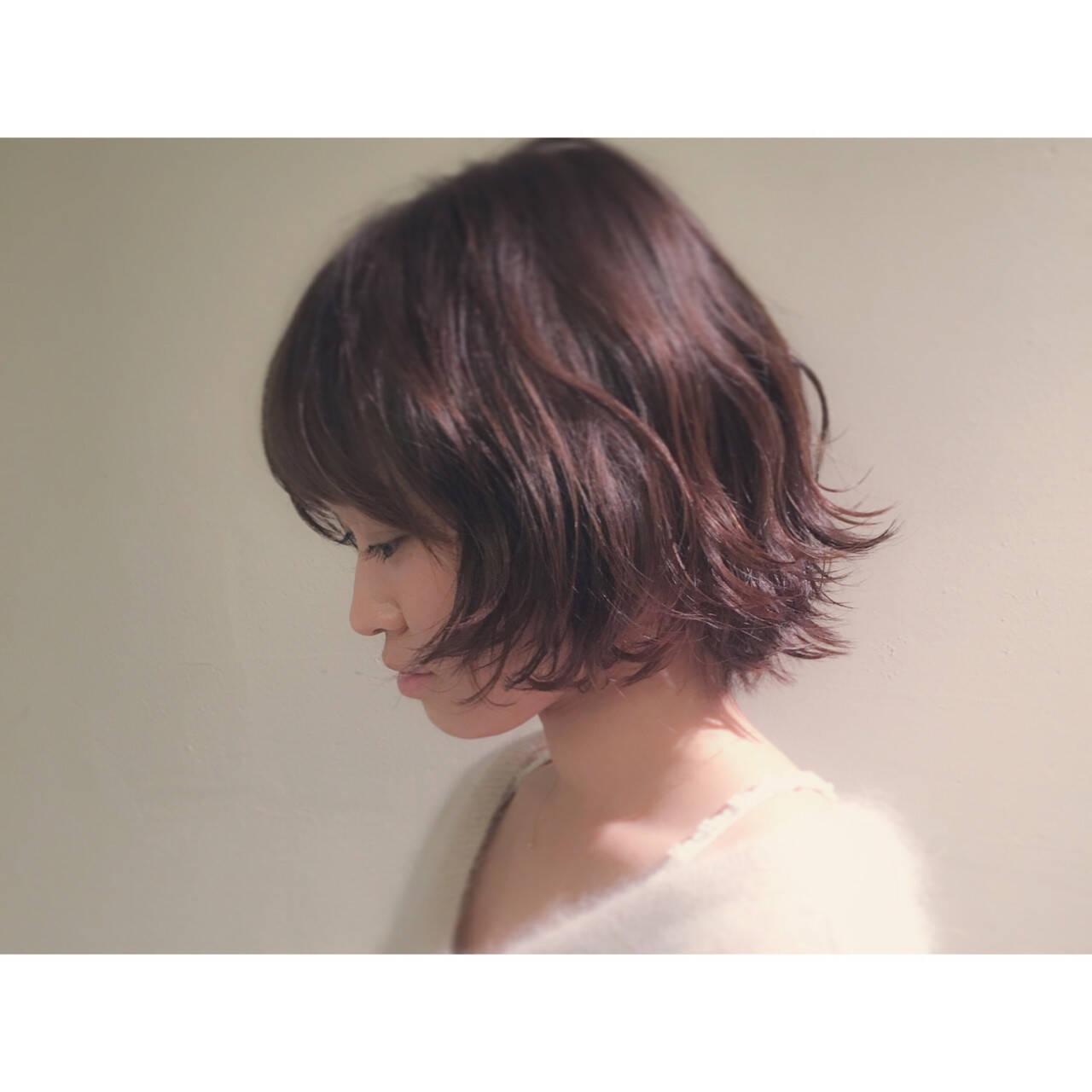 こなれ感 大人女子 ボブ ストリートヘアスタイルや髪型の写真・画像