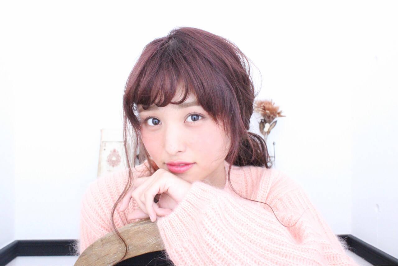ショート 冬 外国人風 簡単ヘアアレンジヘアスタイルや髪型の写真・画像