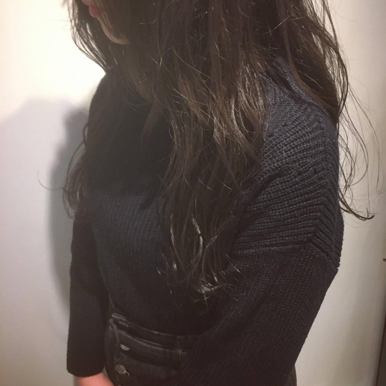 透明感 外国人風カラー ナチュラル 透明感カラーヘアスタイルや髪型の写真・画像
