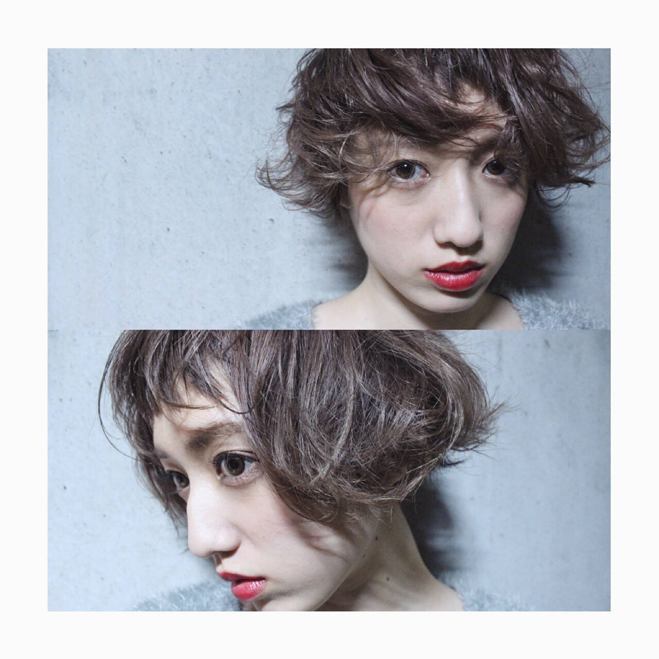外国人風 ガーリー ショート 小顔ヘアスタイルや髪型の写真・画像