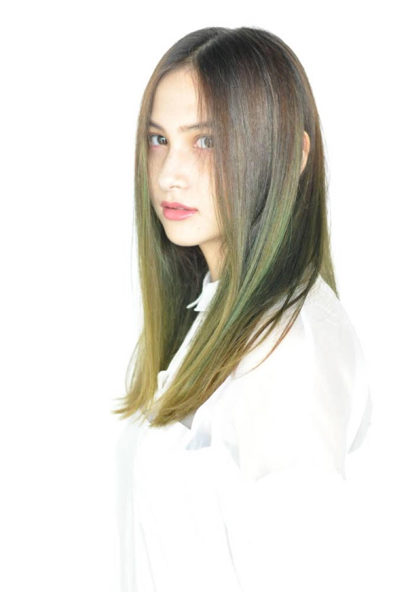 ウェットヘア 透明感 フェミニン 抜け感ヘアスタイルや髪型の写真・画像