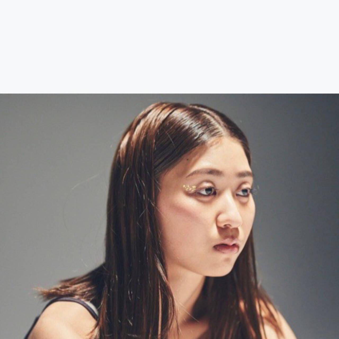 ヘアメイク ロング ナチュラル ヘアアレンジヘアスタイルや髪型の写真・画像