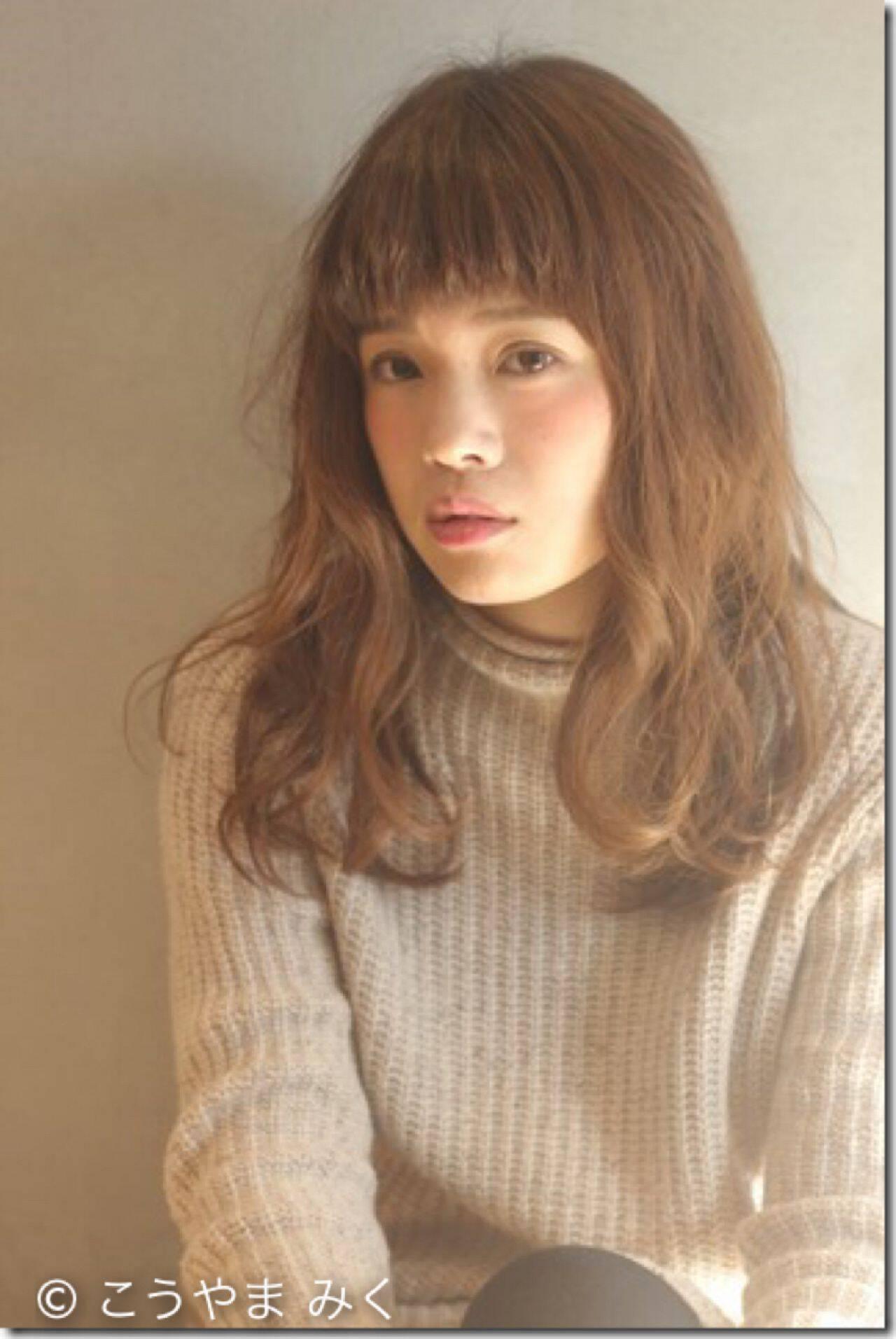 モテ髪 ゆるふわ ロング 愛されヘアスタイルや髪型の写真・画像