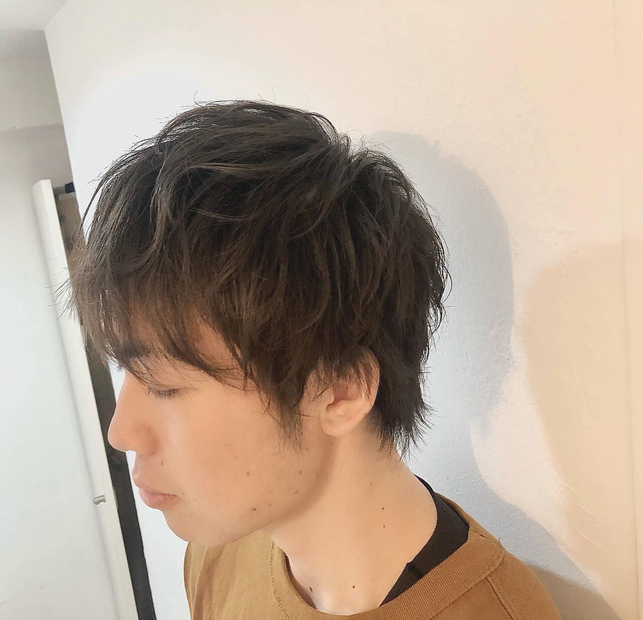 ショート ストリート メンズマッシュ メンズカットヘアスタイルや髪型の写真・画像