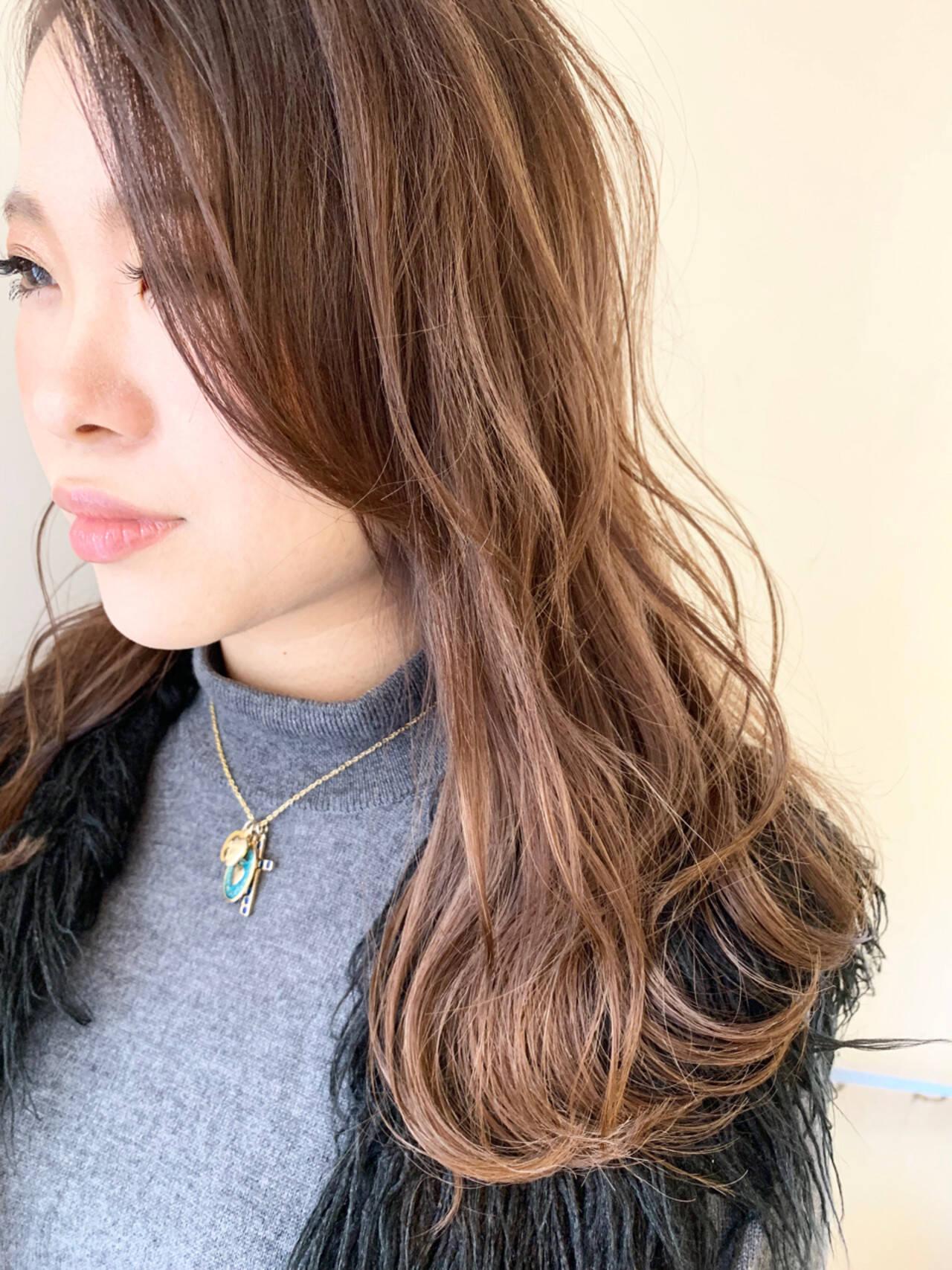 無造作 冬 おフェロ デートヘアスタイルや髪型の写真・画像