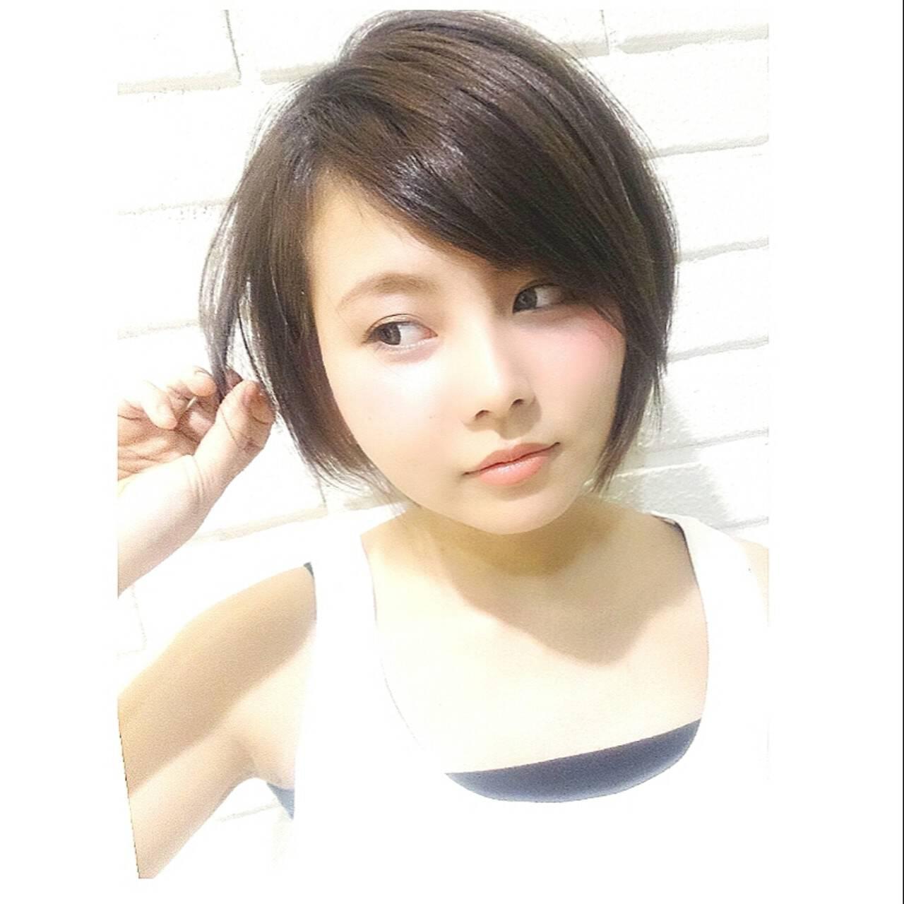 外国人風 大人かわいい ブラウン ストリートヘアスタイルや髪型の写真・画像