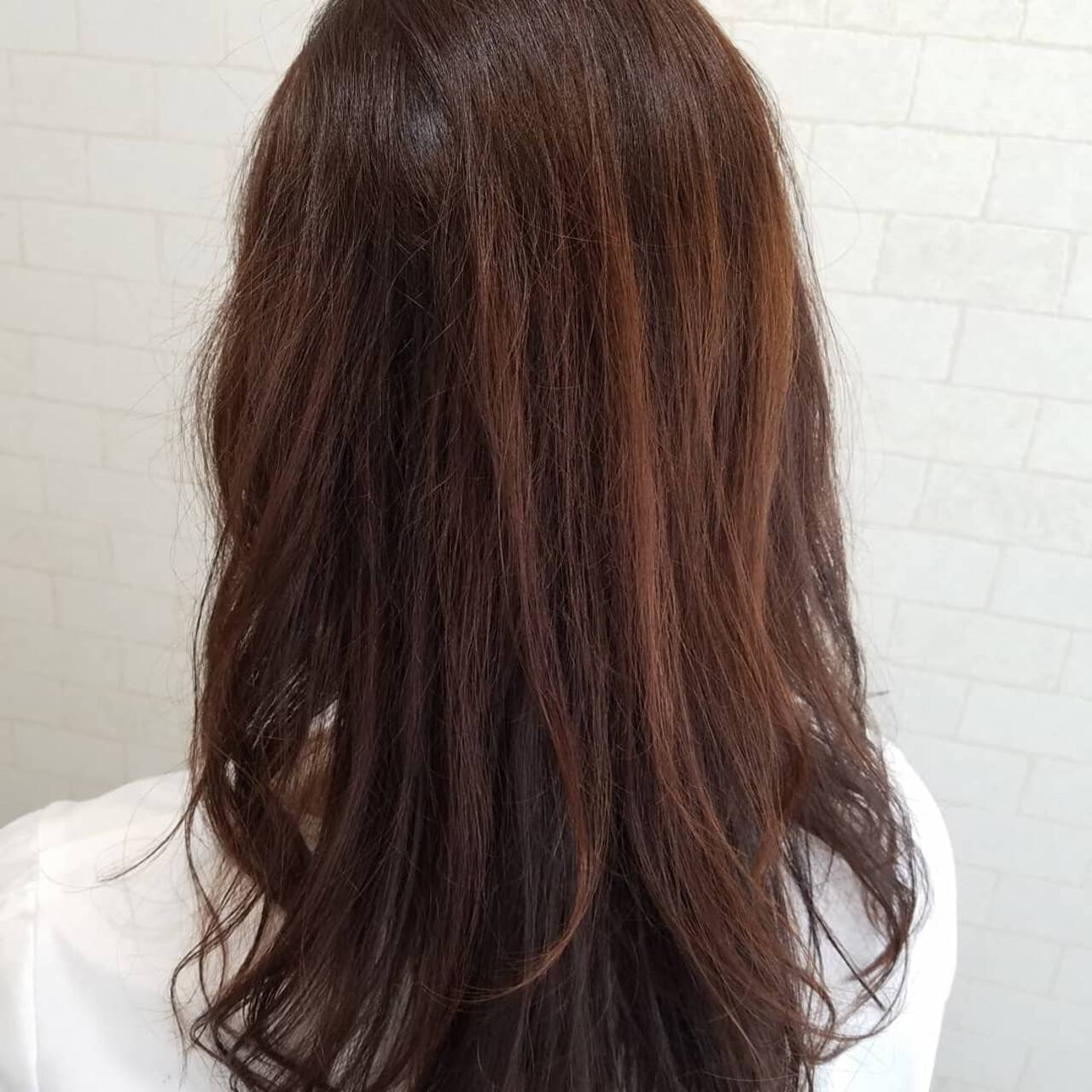 艶髪 ストカール 髪質改善 ロングヘアスタイルや髪型の写真・画像