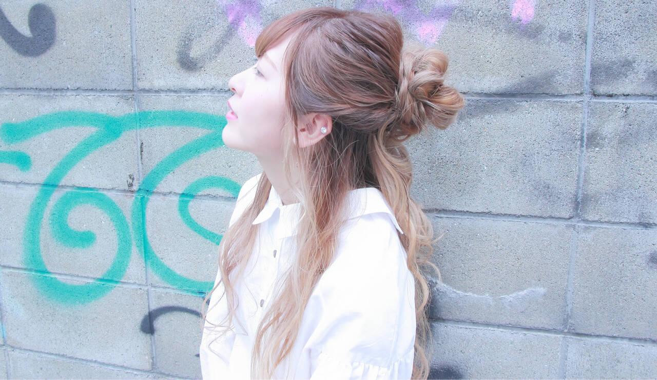 撮影 デート ヘアアレンジ 簡単ヘアアレンジヘアスタイルや髪型の写真・画像