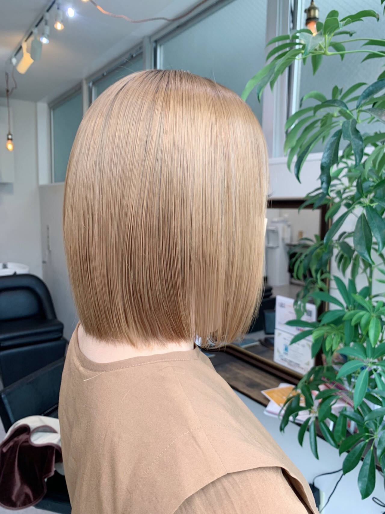 ナチュラル 髪質改善トリートメント 大人かわいい 髪質改善カラーヘアスタイルや髪型の写真・画像