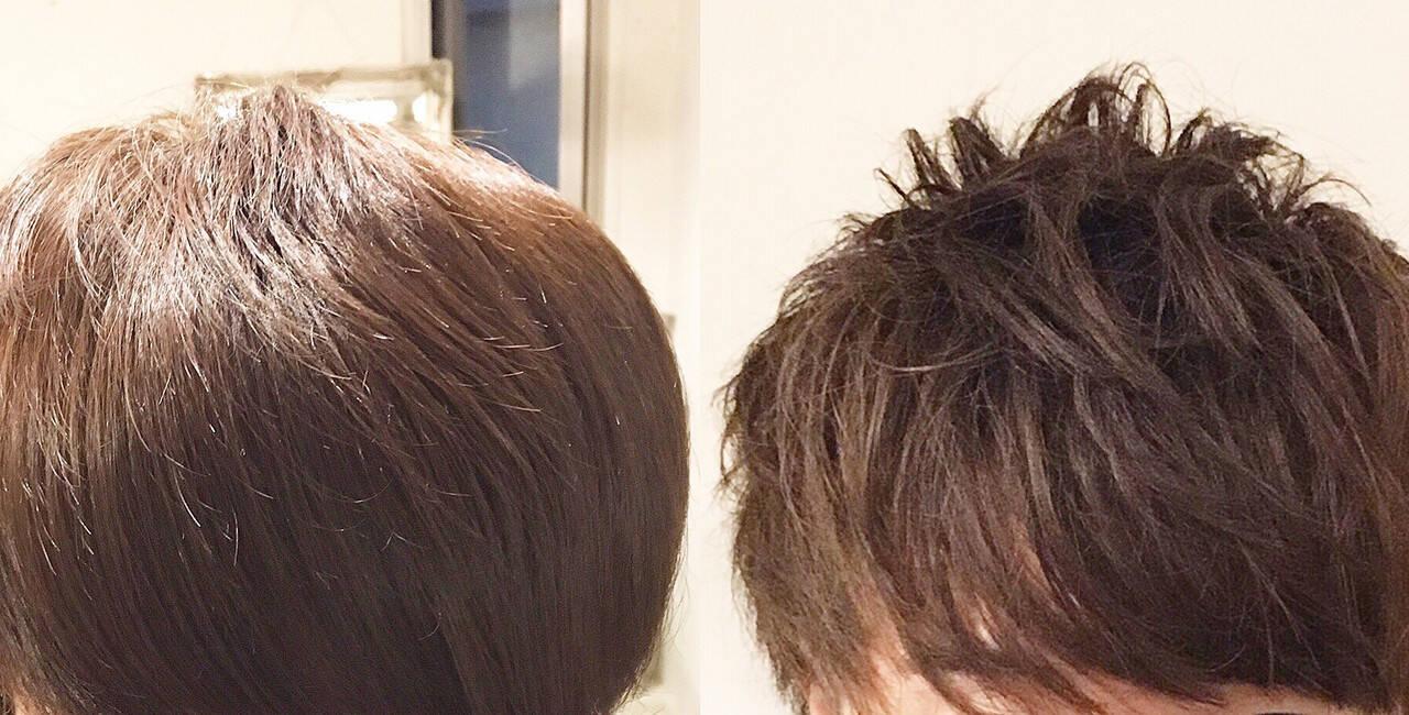 マッシュウルフ マッシュMIX メンズマッシュ マッシュショートヘアスタイルや髪型の写真・画像