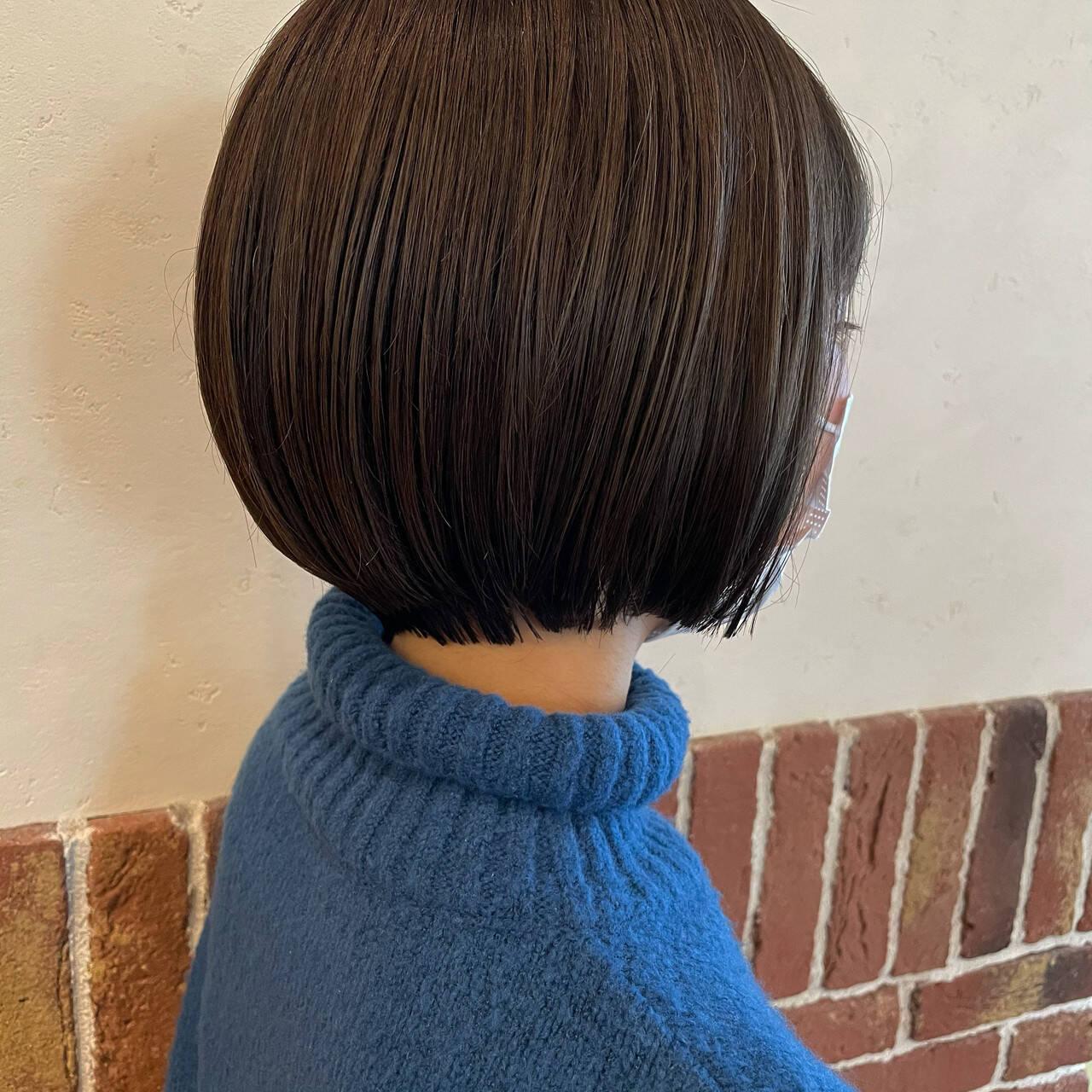 ショート 大人ショート ショートボブ ショートヘアヘアスタイルや髪型の写真・画像