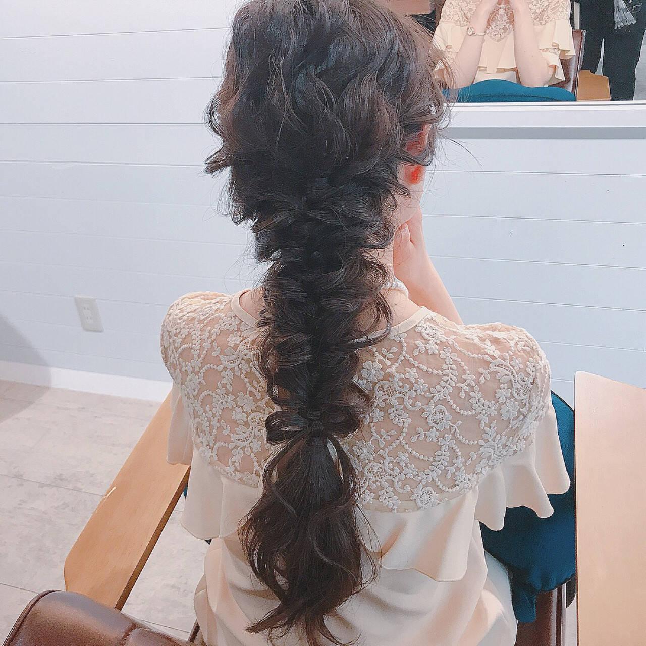 女子会 ヘアアレンジ リラックス 結婚式ヘアスタイルや髪型の写真・画像