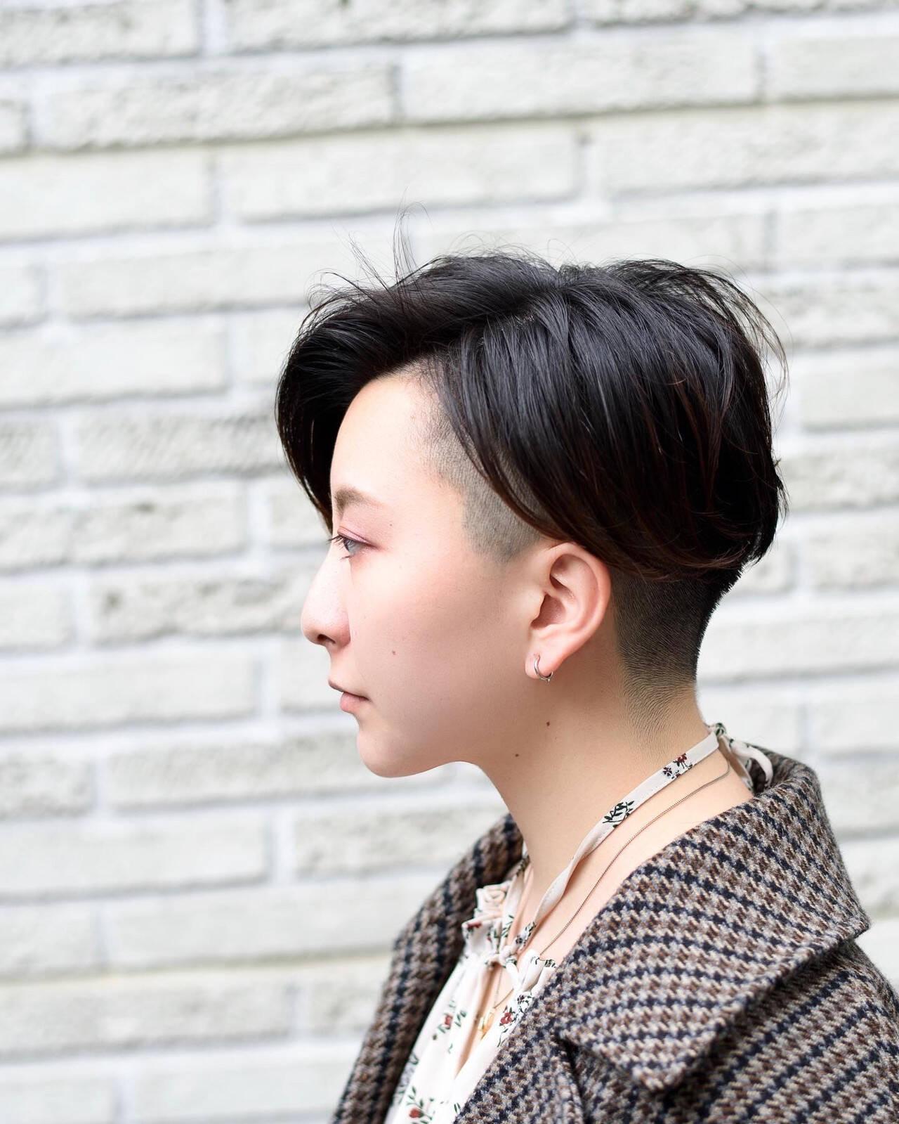 ショートヘア ベリーショート 外国人風 ショートヘアスタイルや髪型の写真・画像