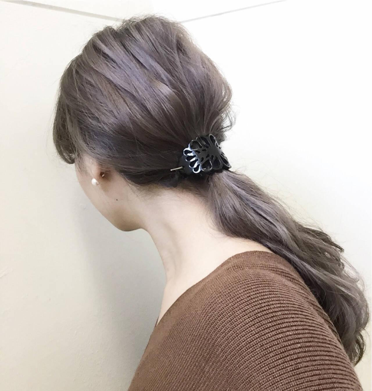 ハイライト アッシュ 大人女子 ショートヘアスタイルや髪型の写真・画像