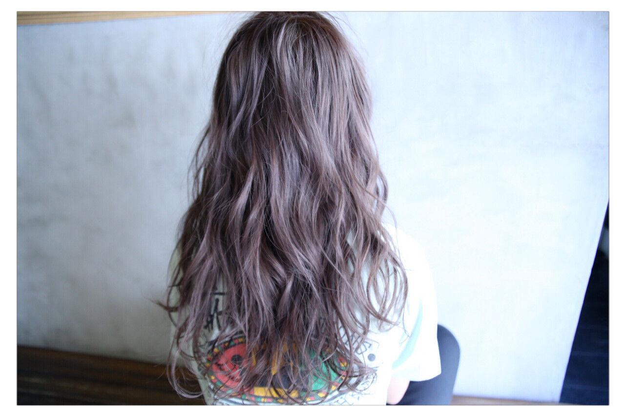 アッシュ 外国人風 ヘアアレンジ 透明感ヘアスタイルや髪型の写真・画像