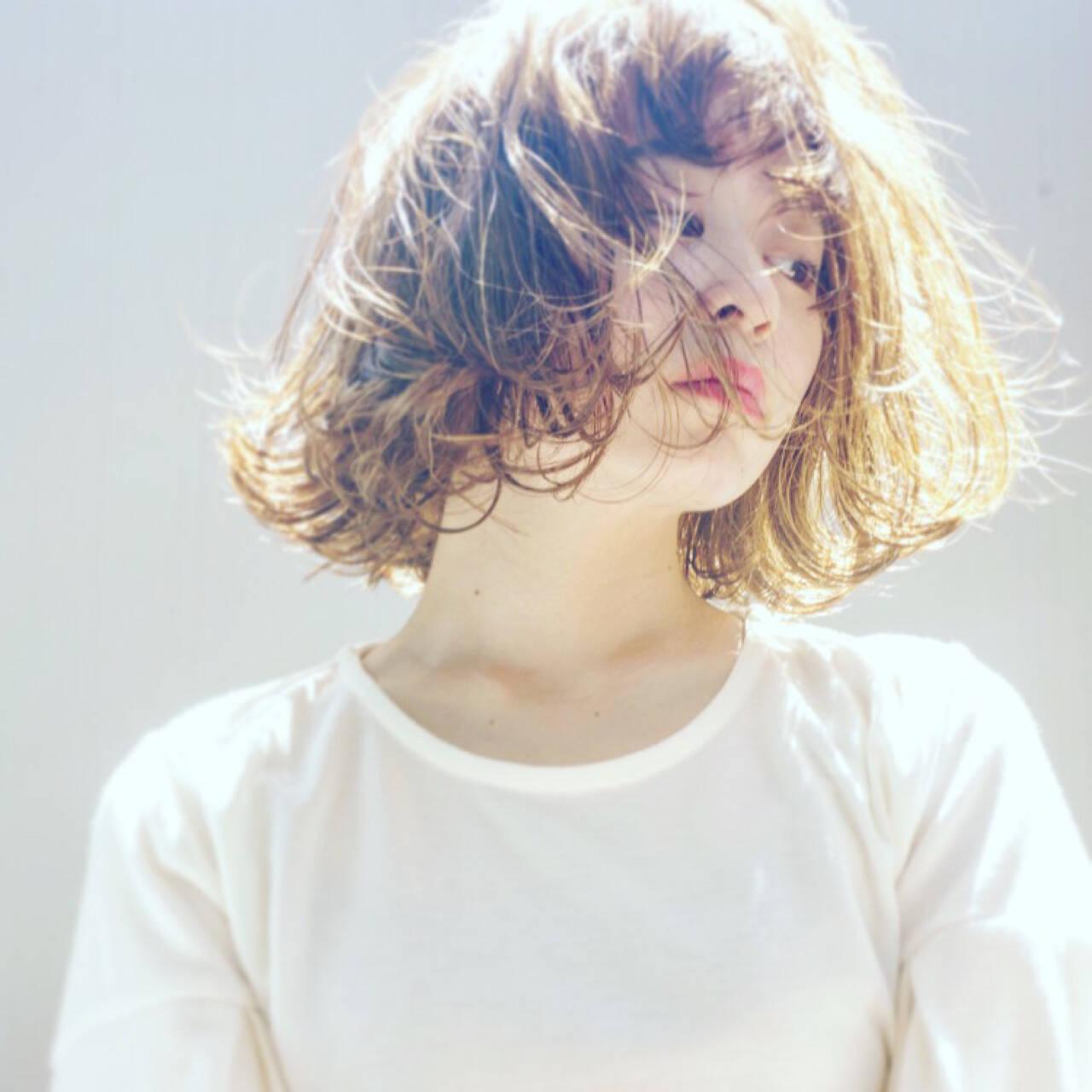 アンニュイ 色気 外ハネ かわいいヘアスタイルや髪型の写真・画像
