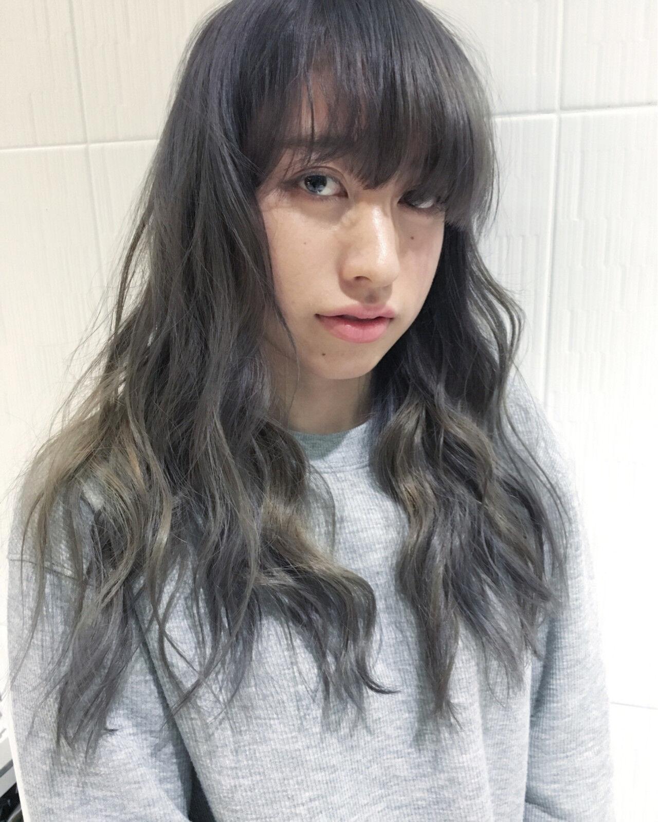 ブルージュ アッシュ 外国人風カラー ストリートヘアスタイルや髪型の写真・画像