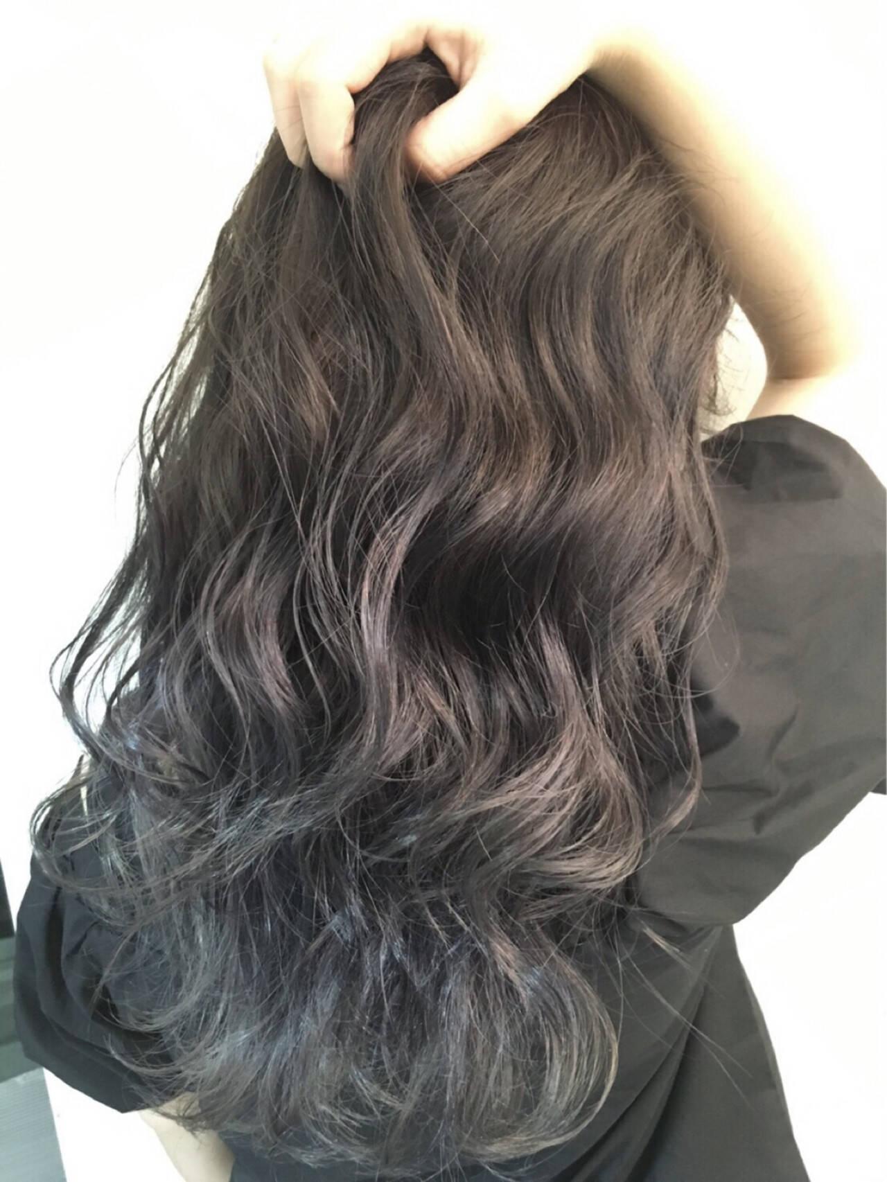 ストリート アッシュグレージュ 外国人風カラー イルミナカラーヘアスタイルや髪型の写真・画像