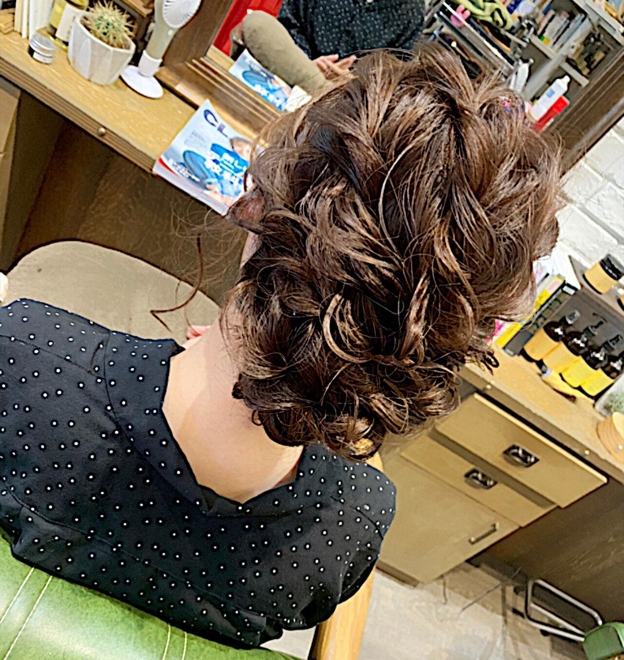 エレガント ゆるウェーブ ヘアアレンジ 結婚式ヘアスタイルや髪型の写真・画像