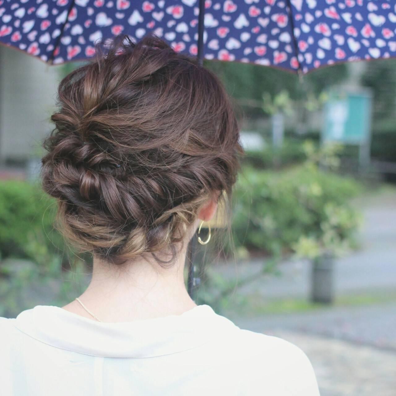 アッシュ ゆるふわ グラデーションカラー ヘアアレンジヘアスタイルや髪型の写真・画像