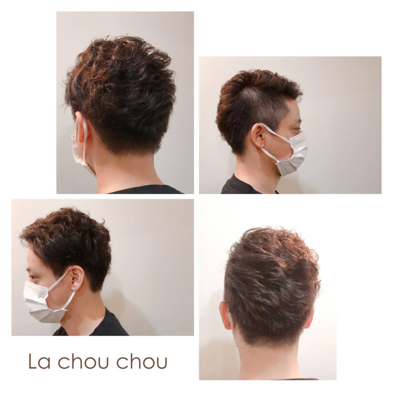 メンズカット メンズスタイル モード ツーブロックヘアスタイルや髪型の写真・画像